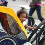 Mari enjoying her Whistler bike ride
