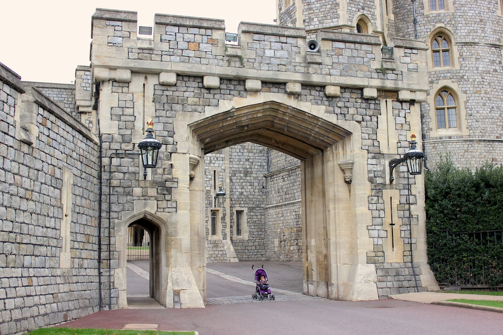 Windsor castle made me feel very small