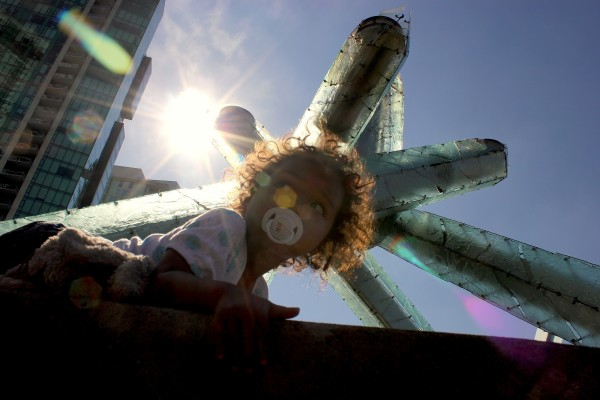 Mari and the Olympic Cauldron
